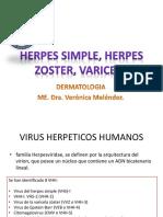 26. Herpes Simple, Herpes Zoster, Varicela