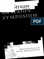 Leo Strauss - On Plato´s symposium