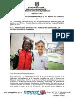 Convocatoria XIII Foro Educativo Departamental