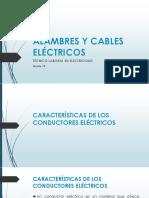1 Alambres y Cables Eléctricos