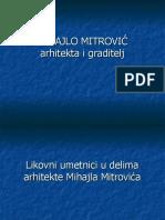 Likovni umetnici u delima arhitekte Mihajla Mitrovića