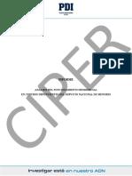 Informe PDI SENAME