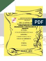 Ley de Promoción y Formalización de La Micro y Pequeña Empresa