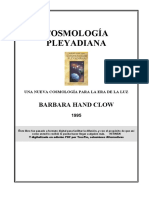 BARBARA HAND CLOW Cosmologia Pleyadiana