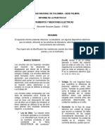 Informe de La Práctica1 Física2