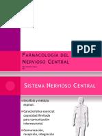 Farmacologia Sistema Nervioso Central