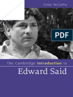 (Cambridge Introductions to Literature) Conor McCarthy-The Cambridge Introduction to Edward Said-Cambridge University Press (2010)