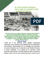 Rector Aurel Pop.despre.armonia.romanilor.cu Sasii