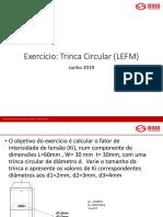 Exercicio mecanica de fratura