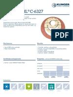 C-6327 Data Sheet