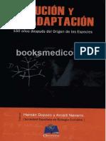Evolución y Adaptación 150 años despues del origen de las especies - Hermán Dopazo.pdf