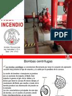Bombas Contra Incendio a CH
