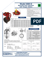 UL FM Grooved Butterfly Valve - Fire Protection - Model 2400-G.pdf