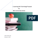 teaching and learning with technology proposal  3