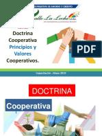 Capacitación Doctrina Cooperativa, Principios y Valores Cooperativos