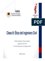 Clase 08 - Etica Del Ingeniero Civil