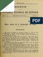 Capdeville 1921 - Notas de La Arqueología de Taltal BANH Vol II n 3 4
