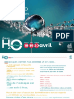 2018 Forum h2o Book Eau