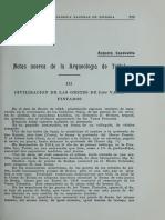 Capdeville 1922 - Notas de La Arqueología de Taltal III Civilizacion de Los Vasos Pintados BANH Vol III n 7 8