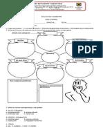 Evaluacion Trimestre II Esp y Soc