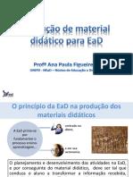 Producao de Material Didatico Para EaD