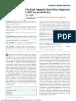 2018 Eficacia Pronostica Qsofa and SIRS
