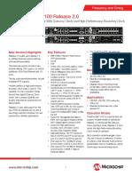 Microchip TimeProvider 4100 Datasheet 20