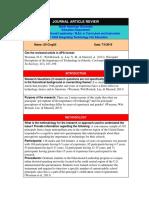 educ 5324-article review a cingilli