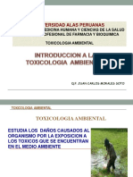 1. Int. a La Toxicologia Ambiental