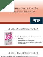 Estructura Ley de Comercio Exterior