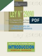 LEY N° 29090
