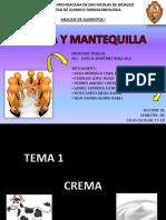 CREMA Y MANTEQUILLA