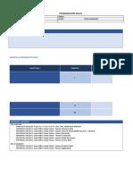Programación Anual Estructura