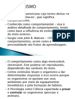 Aula 6 - Behaviorismo 2019