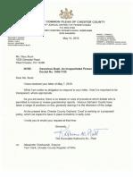 2019 05 14 Response From Platt Ex Parte Communications