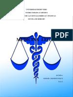 Ensayo Medicina Legal
