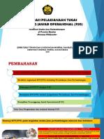 Optimalisasi Pelaksanaan Tugas PJO- Banten