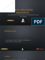 Bridge Program Migration