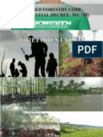 Revised Forestry Code PD 705 Ppt