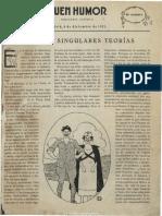 Buen Humor (Madrid). 4-12-1921, n.º 1