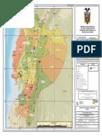 Mapa de Concesiones Mineras de No Metalicos