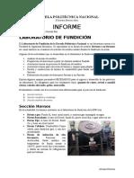 Informe Lab de Fundicion