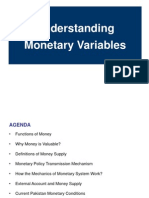 Monetary Variables