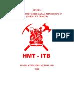 Modul Pelatihan Keprofesian Software Minescape (Open Cut)