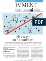 5 Ways to Fix Statistics