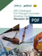 Ibs Catalogue for Precast Concrete Building System Revision 2017