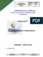 HACCP CEFALOPODOS