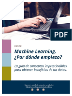GUIA GRATUITA. Machine Learning. Por Donde Empiezo