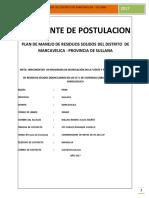 Plan de Manejo 2017 Marcavelica
