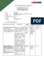 Unidad Didactica DESARROLLO PERSONAL CIUDADANIA Y CIVICA
